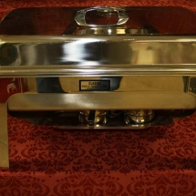 CHAFING DISH WITH FULL OR HALF PANS