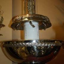 Champagne-fountain-silver-decor