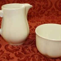 DUDSON CREAM SUGAR SET