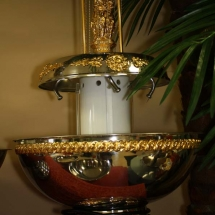 GOLD DECORATED FOUNTAIN