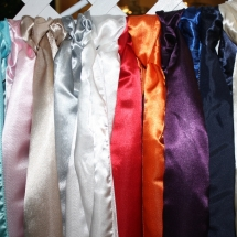 Colored Chair Cover sashes