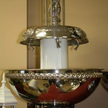 SILVER DECORATED FOUNTAIN