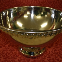 STAINLESS 3 GALLON PUNCH BOWL