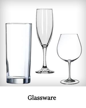 glassware rental