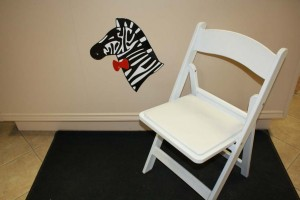 PADDED RESIN FOLDING CHAIRS 3 75
